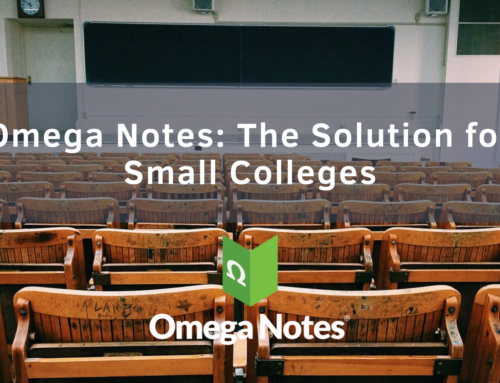 Omega Notes: The Solution for Small Colleges