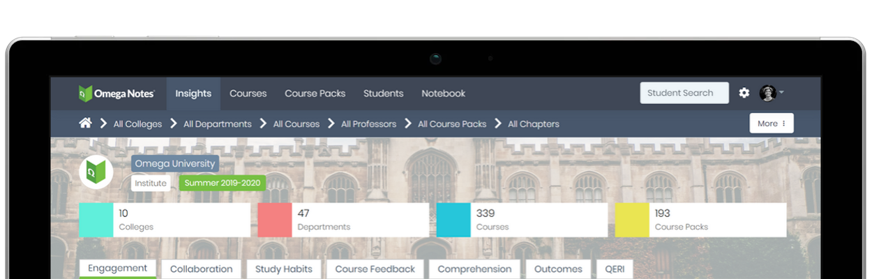 Omega Notes' Collaborative Learning System