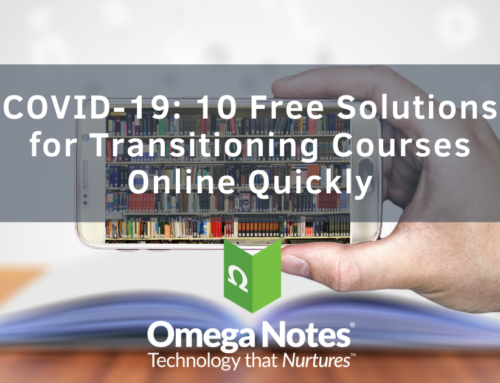 COVID-19: 10 Free Solutions for Transitioning Courses Online Quickly